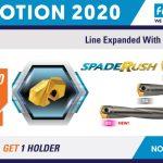 TAEGUTEC : PROMOTION SPADE RUSH 2020