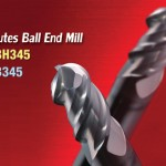 High Feed 3F Ball End mill for High Speed Mold Making