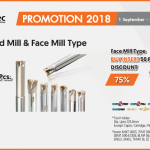 Taegutec – End Mill Type Buy Insert 30 Pcs. Discount 75% or Face Mill Type Buy Insert 50 Pcs. Discount 75%
