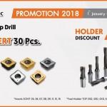 Taegutec – Buy Insert 30 Pcs. Holder discount  75%