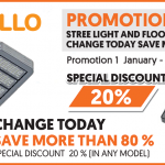 Apollo – Streel Light and Flood Light Change today save more than 80%