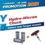GRIP : HYDRO-MICRON CHUCK PROMOTION 2021
