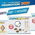 TAEGUTEC : TURNING PROMOTION 2021
