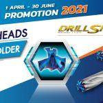 TAEGUTEC : DRILL-SFEED PROMOTION  2021